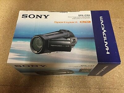 Sony Sports pack SPK-CXA Waterproof Case Video Camera 5m 17ft Under Water