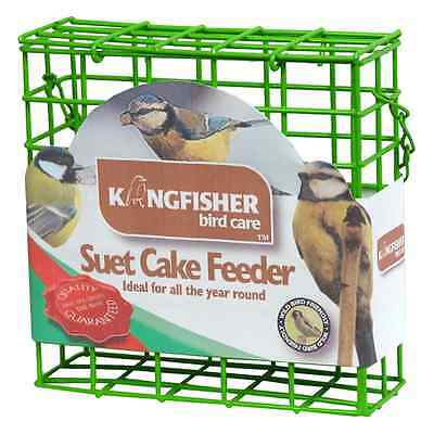 Suet Cake Bird Feeder Outdoor Wild Feed Hanging Feeder Holder Garden Green New