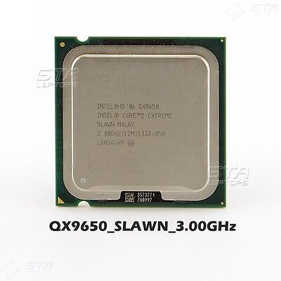 Intel Core 2 Extreme QX9650 SLAWN 3.00GHz LGA775 CPU Working Pull
