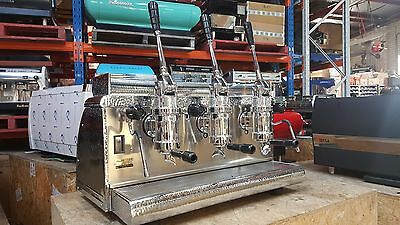 Victoria Arduino Athena 3 Group Lever Espresso Coffee Machine Cafe Commercial