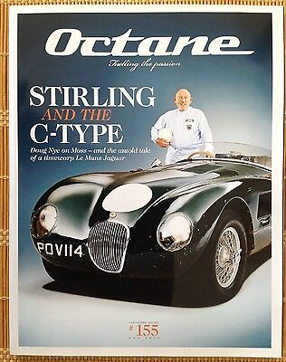 Octane Magazine #155 May 2016 - STIRLING MOSS AND THE LE MANS JAGUAR C-TYPE
