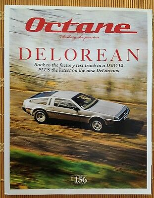 Octane Magazine 156 June 2016 DELOREAN Back to the factory test track in a DMC12