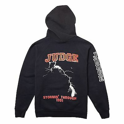 Vintage Judge Stormin Through 1991 Tour Hoodie Cro Mags Bold Madball NYHC Shirt