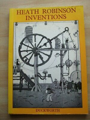 Inventions by Robinson, W. Heath Hardback Book The Cheap Fast Free Post