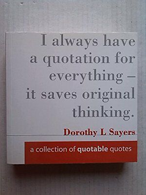 A Collection of Quotable Quotes, Aura Books Paperback Book The Cheap Fast Free