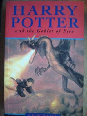 Harry Potter and the Goblet of Fire, J k Rowling Paperback Book The Cheap Fast