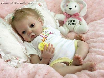 Handmade Lifelike Newborn Silicone Vinyl Reborn Baby Doll Full Body Gifts Kids