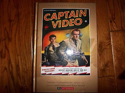 Captain Video Volume 1, Hardcover, PS ArtBooks, 1950s, Collected Works Fawcett