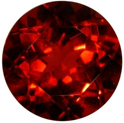 Rare Natural Extra Fine Deep Red Anthill Chrome Pyrope Garnet - Round - Arizona