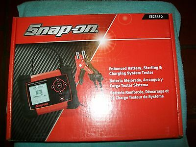 NEW Snap-on™ EECS350 Enhanced Battery & Electrical System Tester NIB
