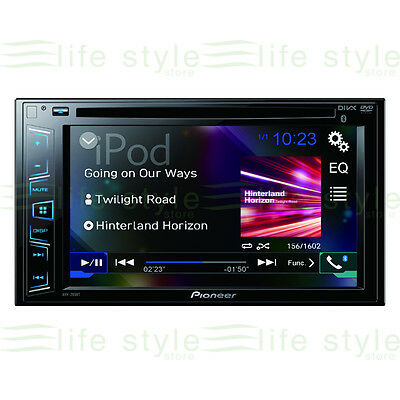 Pioneer AVH-295BT Touch-screen Bluetooth/iPod/iPhone, USB & Aux-In