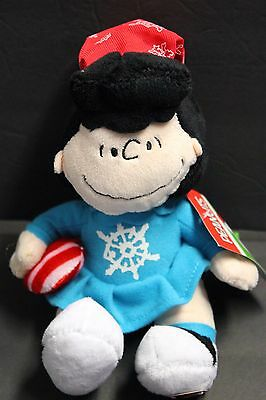 2016 Lucy Peanuts Gang Musical Christmas Plush
