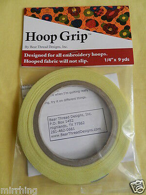 Hoop Grip - Stops fabric slipping inside your embroidery hoop
