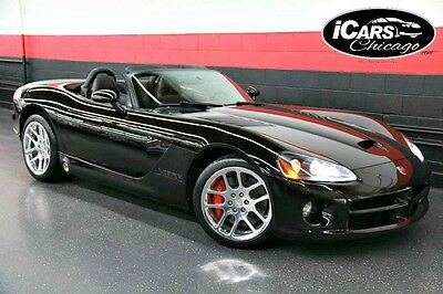 2004 Dodge Viper  2004 Dodge Viper SRT-10 Convertible Only 30,097 Miles HID'S Serviced Tints WoW!