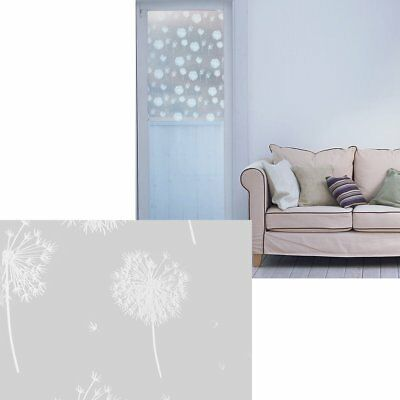 90cm Frosted Decorative DIY Window Film Glass Door Stained Vinyl Privacy