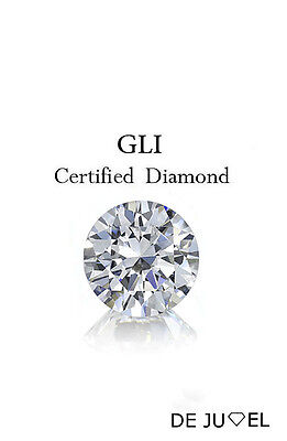 0.20 carat color-G clarity-SI2 Round Natural Loose Diamond Pointer GLI Certified