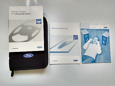 Ford C-max Owners Manual, Blank Service Book 2003-2006