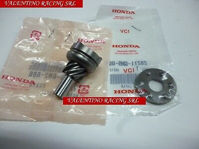 Pinion Gearwheel Start The Car In Moto Honda Sh 50 96>01 Sky Sfx Bali Shadow 50