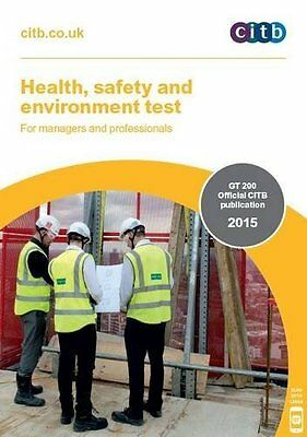 Health  Safety and Environment Test for Managers and  by CITB New Paperback Book
