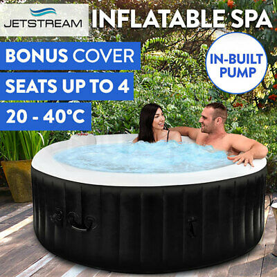 Inflatable Spa Massage Portable Jacuzzi Hot Tub Indoor Outdoor Pool Bath