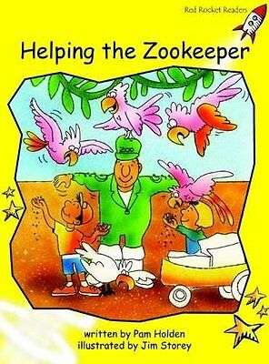 Helping the Zoo Keeper by Pam Holden New Paperback Book