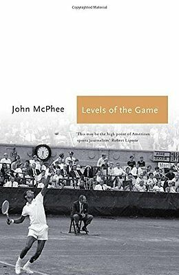 Levels of the Game by McPhee  John Paperback New  Book