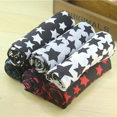 Unisex Warmer Winter Boy Girl Stars Cotton Scarf Collar Shawl Ring Scarves