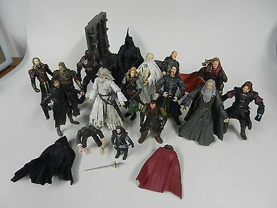 Lord of the Rings Action Figure Job Lot with Playset
