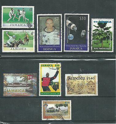 Jamaica - 1992 To 2000 - CV £ 3.55 - used High Values $1.40 To $10