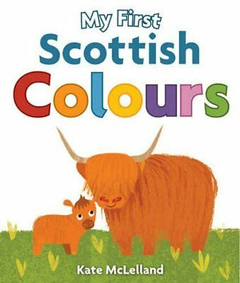 My First Scottish Colours Board boo New  Book