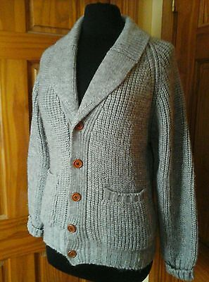 Brian MacNeil Vintage Wool Blend Cardigan Button Front Sweater Sm