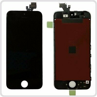 black LCD Screen Digitizer Display Glass Frame Assembly For Apple iPhone 5
