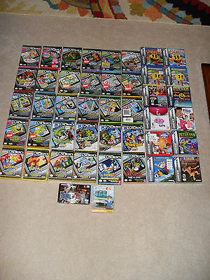 Gameboy Advance / GBA Video Movie & Game lot. WoW!!