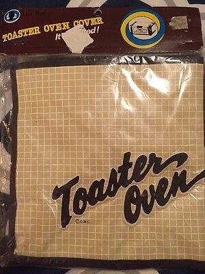 NOS New Vintage Dora May Quilted Toaster Oven Cover 4420 8x16x9 Free Shipping