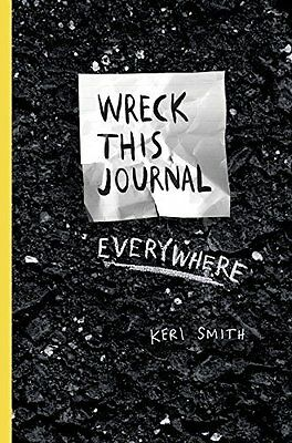 Wreck This Journal Everywhere by Keri Smith New Paperback Book