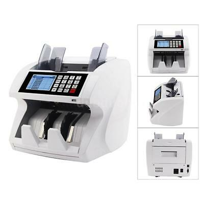 Cash Bill Money Counter Multi-Currency Count Machine Counterfeit Detector P0N7