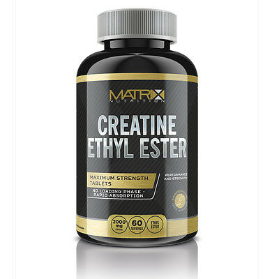 Creatina Etil Estere Tavolette Hardcore 240 Compresse Da Matrix Nutrition