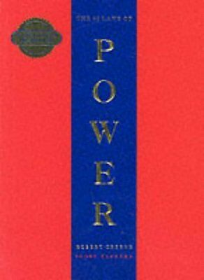 48 Laws Of Power by Robert Greene New Paperback Book