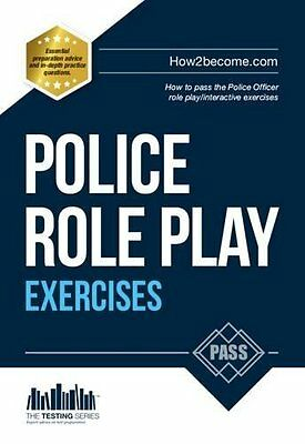 Police Officer Role Play Exercises by Richard McMunn New Paperback Book