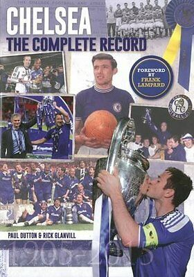 Chelsea: The Complete Record by Glanvill  Rick Hardback New  Book