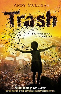 Trash by Andy Mulligan New Paperback Book