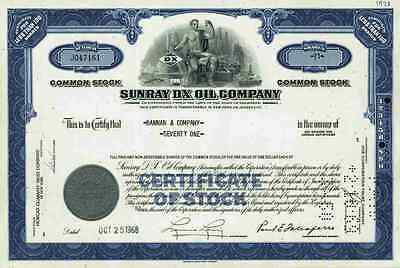 SUNRAY DX Continent Oil Company 1968 Jersey City New Jersey Pittsburgh SUNOCO #