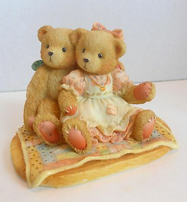 """Cherished Teddies """"NATHANIEL & NELLIE, It's Twice As Nice With You"""" #950513"""