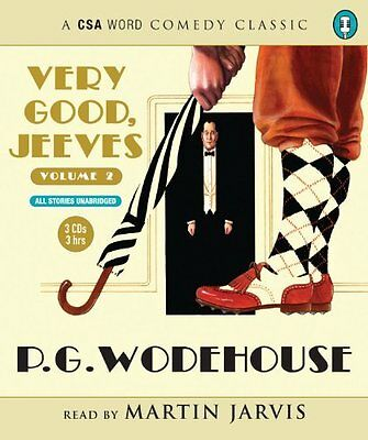 Very Good  Jeeves by P. G. Wodehouse New CD-Audio Book