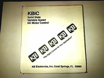 !! New !! Kb Electronics Dc Motor Speed Control Kbic-120 9429A  !! New !!