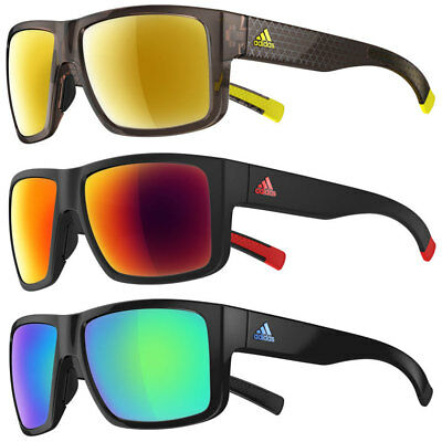 52% OFF RRP Adidas Matic Sunglasses A426 Sport Eyewear - Mirror Lenses