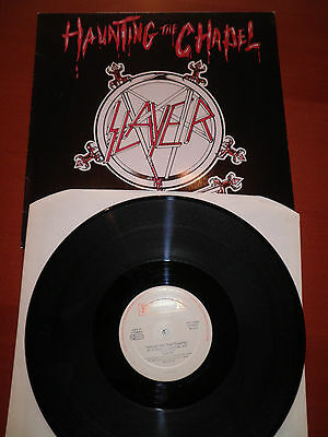 SLAYER Haunting th Chapel NL first press EP