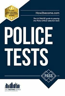 Police Tests: Numerical Ability and Verbal  by Richard McMunn New Paperback Book