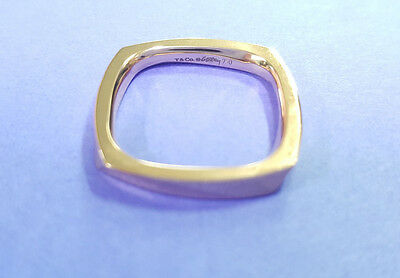 Tiffany & Co. Frank Gehry 18k Rose Gold Torque Band Ring Size 6 1/4  (5.4 Grams)