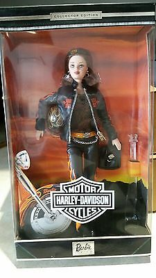 2000 Harley Davidson Red Hair Barbie Doll Mint in Unopened Box